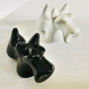 4/$25 Terrier Salt & Pepper Shakers